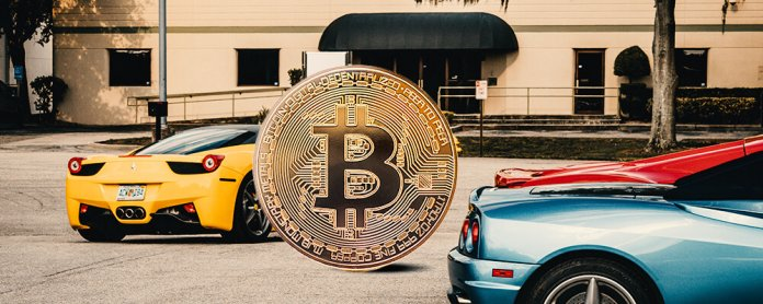 Maclaren, Ferrari accepts Bitcoin